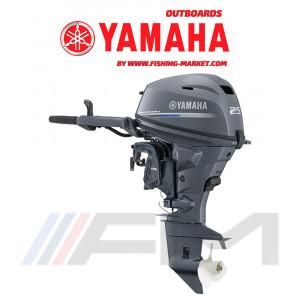 YAMAHA Извънбордов двигател F25 GMHS - къс ботуш