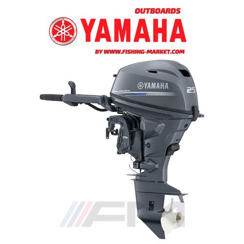 YAMAHA Извънбордов двигател F25 GWH - къс ботуш
