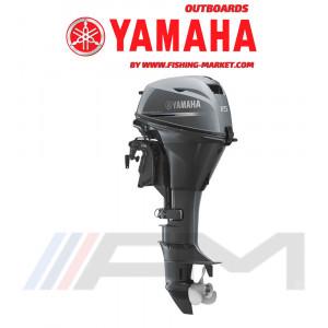 YAMAHA Извънбордов двигател F15 CES - къс ботуш