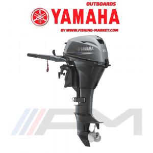 YAMAHA Извънбордов двигател F15 CMHS - къс ботуш