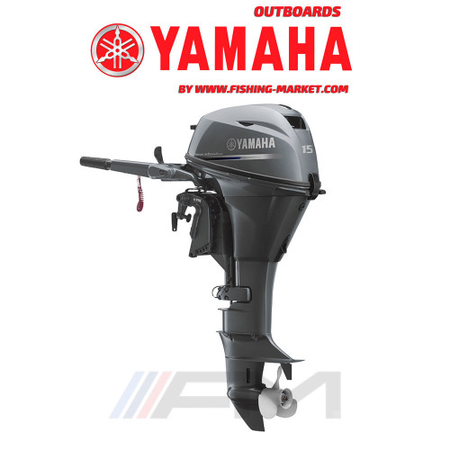 YAMAHA Извънбордов двигател F15 CEPL - дълъг ботуш