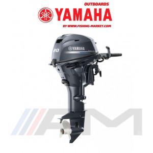 YAMAHA Извънбордов двигател F20 GMHS - къс ботуш