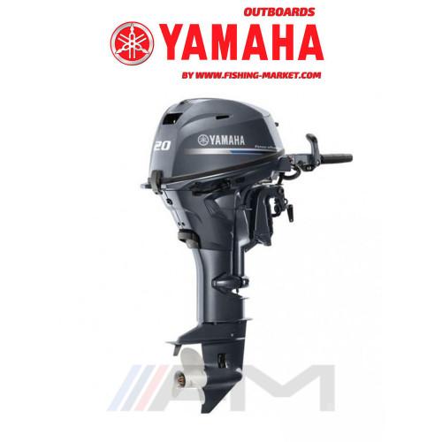 YAMAHA Извънбордов двигател F20 GMHL - дълъг ботуш