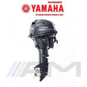 YAMAHA Извънбордов двигател F20 GES - къс ботуш
