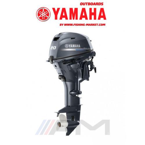 YAMAHA Извънбордов двигател F20 GEL - дълъг ботуш