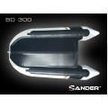 ZANDER - Надуваема моторна лодка с алуминиево дъно и надуваем кил BD300P