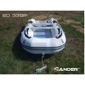 ZANDER - Надуваема моторна лодка с алуминиево дъно и надуваем кил BD330P
