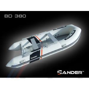 ZANDER - Надуваема моторна лодка с алуминиево дъно и надуваем кил BD390P