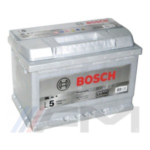 BOSCH L5 Акумулатор / полу-тягов - 75Ah 12V