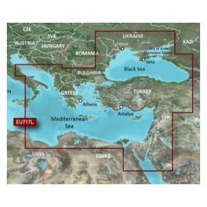 BlueChart g2 Vision 2012 за Източно Средиземноморие и Черно море