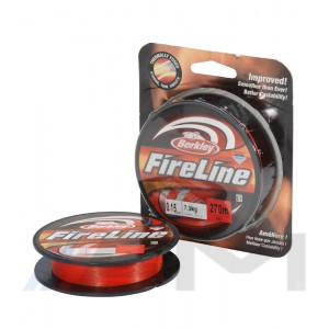 BERKLEY Суперлайн влакно FireLine Red - 250 m. (0.39 mm.)