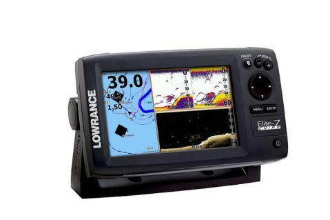 Lowrance CHIRP Elite-7 комбиниран сонар с GPS
