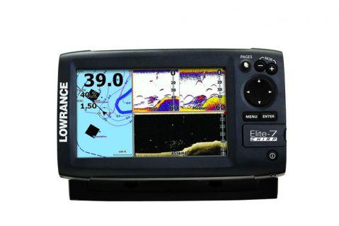 CHIRP ехолот с GPS Ловранце Елите-7 medium/high 83/200/455/800