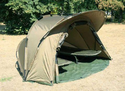 Двумесна CARP палатка със здрава алуминиева конструкция