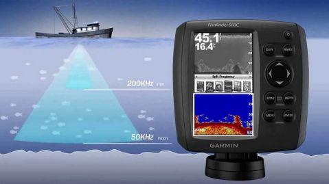 Цветен сонар за солена вода Garmin FF 560c