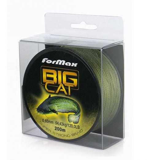 Плетено влакно за сом - Formax Big Cat Super Strong Braid x 200 m. 0.60 mm.