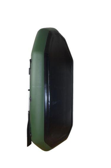 Надуваема гребна лодка с твърдо дъно и транцева дъска - OMEGA BOAT