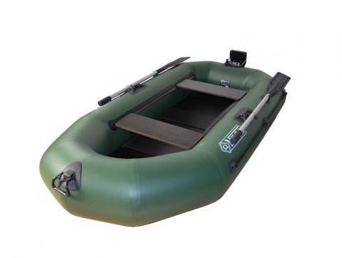 OMEGA BOAT -лодка с твърдо дъно и транцева дъска 245 см.