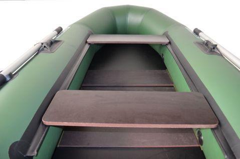 OMEGA - украинска лодка с дървено дъно и транец подарък - 2.45 м.