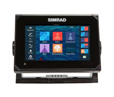 Simrad Go7 Chartplotter Navigation