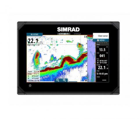 SIMRAD GO7 Touch Chartplotter Navigation System (сонар с GPS) 83/200 455/800 kHz (BG Menu)