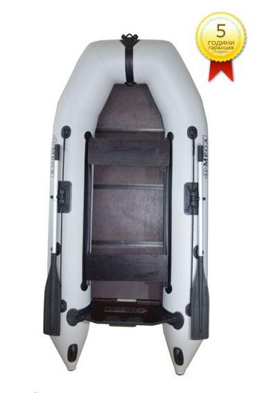 Omega Надувна ПВЦ лодка с подсилено твърдо дъно 260 см.