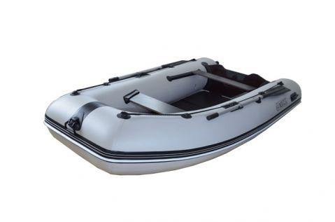 Лодка Омега с цяло твърдо дъно и U-образна форма
