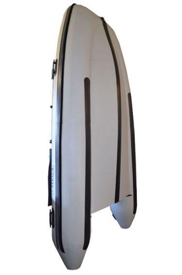 Лодка с надуваем кил OMEGA BOAT 330KU - светло сив