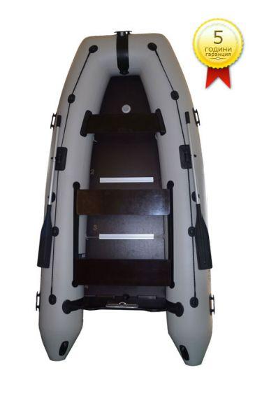 Лодка OMEGA с надуваем кил