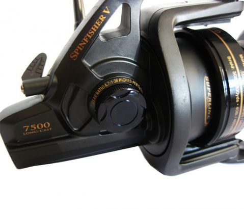 Spinfisher SSV7500 Long Cast LTD Black Limited Edition