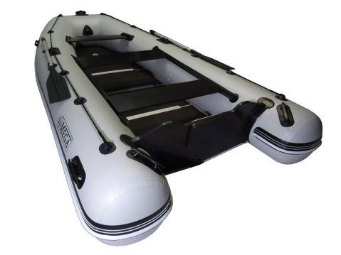 OMEGA Надуваема моторна лодка с твърдо дъно и надуваем кил Ω330 KU RT(PT) SPH Luxury S-Edition