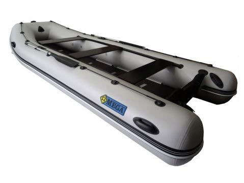 OMEGA Надуваема моторна лодка с твърдо дъно и надуваем кил Ω450 KU RT(PT) SPH Luxury S-Edition