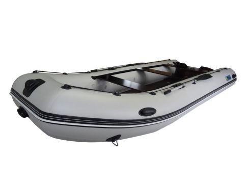 Надуваема моторна лодка с твърдо дъно и надуваем кил OMEGA 450 KU